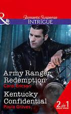 Army Ranger Redemption / Kentucky Confidential by Carol Ericson A10 LL388