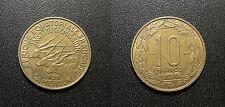 Cameroun - Afrique équatoriale Française - 10 francs 1958 - KM#11