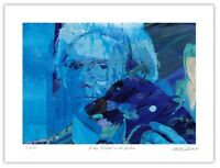 "Andy Warhol Pop Art Giclée Limited Edition Art Print 12x16"" by Stephen Chambers"