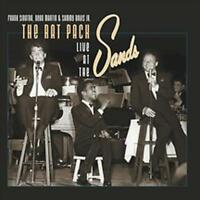 THE RAT PACK - LIVE AT THE SANDS [2 LP] [VINYL] VARIOUS ARTISTS NEW VINYL RECORD