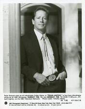 PETER STRAUSS PORTRAIT TEXAS JUSTICE ORIGINAL 1994 ABC TV PHOTO