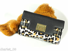 ~ MICHAEL KORS ~ CLUTCH/TASCHE/BAG  ~ ASTRID ~ SUNTAN/LEOPARD ~ HAIRCALF  NEU