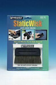 "Kinetronics StaticWisk-100 100mm Anti-Static Brush (4"")"