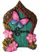 Miniature Fairy Door Butterfly for the Enchanted Garden Fairies by GlitZGlam