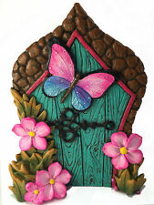 Miniature Butterfly Fairy Door for the Enchanted Garden Fairies and Gnomes