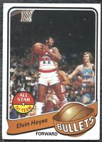 1979-80 Topps Elvin Hayes Vintage Basketball Card #90 Washington Bullets - EX!
