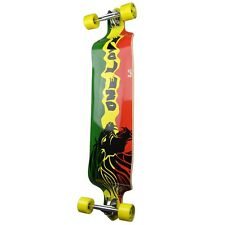 Rasta 2 Graphic Drop Down Complete Longboard Professional SpeedCruise skateboard