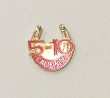Caliente 5-10 Vintage Betting Pin Tijuana Mexico Horse Racing