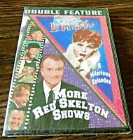 The Lucy Show (5 Episodes) & More Red Skelton Shows (DVD BRAND NEW & Sealed)