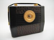NOS 1948 RCA VICTOR GOLDEN THROAT 8BX5 USA RADIO ART DECO VINTAGE -  UNUSED!!!