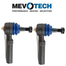 For Chevy Buick Pontiac Pair Set of 2 Front Outer Tie Rod Ends Mevotech MES3459