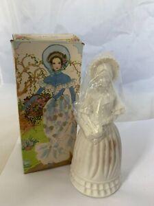 Avon Fashion Figurine Victorian Bird Of Paradise Cologne 4 oz Bottle & Box NOS