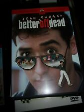 Better Off Dead - Dvd - Watched Once - Insert - Excellent Condition!