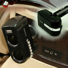 USB Port Twin Way Car Cigarette Lighter 2 Socket Splitter Dual Charger Adapter
