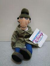"Disney Store Inspector Gadget Beanie 8"" Bean Bag Plush with Tags"