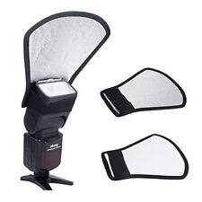 New Camera Flash Reflector Bounce Card Diffuser external Softbox Speedlite