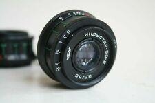 KMZ INDUSTAR 50-2   f/3.5 50mm Russian SLR Lens M42 MOUNT SCREW