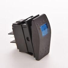 Blue 12V 20A WATERPROOF BAR ARB CARLING ROCKER TOGGLE SWITCH LED LIGHT CAR KF