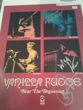 Vanilla Fudge 8x10 photo with Coa handsigned by Carmine Appice, Vince Martell, M