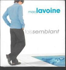 CD SINGLE 2 TITRES--MARC LAVOINE--FAIS SEMBLANT--1999--NEUF / SEALED