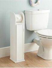 Porte-rouleaux de papier toilette support stockage papier tissu sol autoportante salle de bain uk!!!