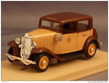 ELIGOR 1:43 AUTO DIE CAST CITROEN ROSALIE TAXI 1934 SABLE MARRON ART. 1035