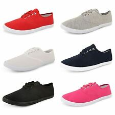 Unbranded Canvas Lace Up Casual Shoes for Women