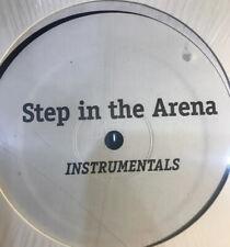 """Gang Starr """"Step In The Arena Instrumentals LP DJ Premier Rare Hip Hop Vinyl"""