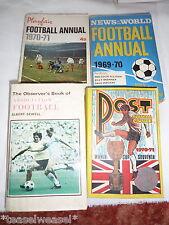 FOOTBALL BOOKS X4