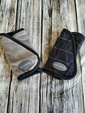 JJ Cole Carseat Strap Covers. Reversible. Grey on one side, b/w on other side.