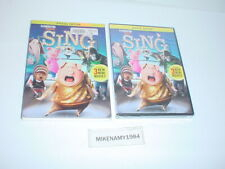 New SING: Special Edition (DVD, 2016) - New & Sealed !!