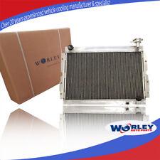 For TOYOTA LANDCRUISER Radiator 60 Series HJ60 HJ61 HJ62 Manual 3 ROW Aluminum