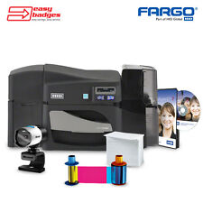 Fargo DTC4500e Complete Single Sided ID Card System with Camera