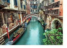 New Clementoni Venice Canal 1000 Piece Scenic City Landscape Italy Jigsaw Puzzle