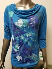 New Style & Co. Womens Butterfly Winged Dream Top Shirt   Retail 34.50