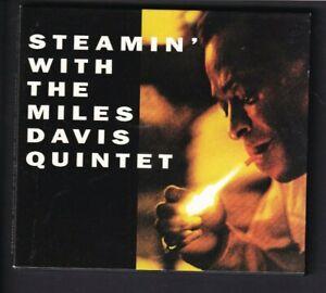 Jazz  CD - Steamin' with the Miles Davis Quintet OJC20 391-2 Cardboard case