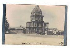France. Napoleons Tomb Paris 1906 , Old Real Photo Postcard.