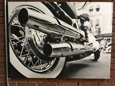 Canvas Print Harley Davidson Huge Ready to Hang Wall Decor Real Photos