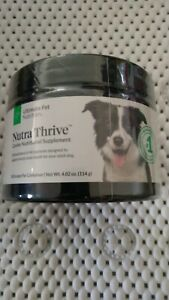 Nutra Thrive Canine 4.02oz New!