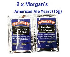 2 x Morgan's 15g American Style Pale Ale Yeast Australian Made Beer Yeast