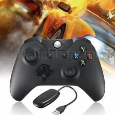 2.4GHz Black Wireless Controller Gamepad Joypad for Microsoft Xbox One +Receiver