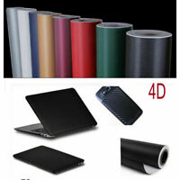 DIY 4D Waterproof Carbon Matte Carbon Fiber Wrap Vinyl Decal Film Sticker Car