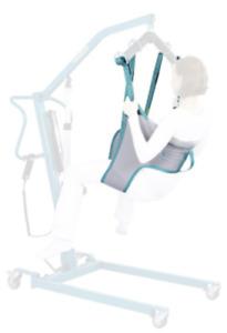 AKS Hebegurt, Liftergurt, Hebetuch für Patientenlift, Hygienegurt
