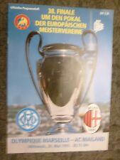 1993 European Cup Final-Olympique Marseille v AC MILAN - 26th mai