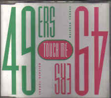 49 ers-Touch me cd maxi single italo Dance