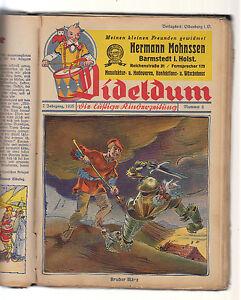 Dideldum Kinderzeitung 7 Jahrgang 1935 Nr. 1-24 komplett Original