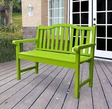 Shine Company 4212LG Belfort Garden Bench 43.25 in.- Lime Green -