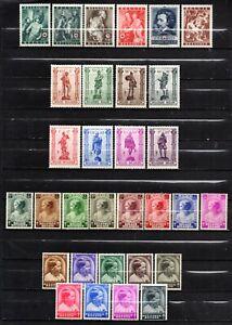 Belgium Very nice mixed era mint no gum,stamps as per scan(10515)