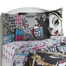 Monster High Twin Sheet Set - Cotton Blend The In Crowd Frankie Stein Bedding