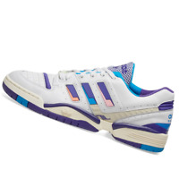 ADIDAS MENS Shoes Torsion Edberg OG - White, Ink & Bright Blue - EF7756